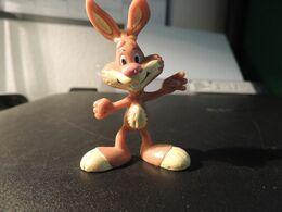 FIGURINE  NESQUICK  -   QUICKY LE LAPIN - Figurines