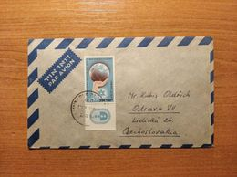 EX-PR- 20-07-130 AVIA LETTER FROM ISRAEL TO OSTRAVA, CZECHOSLOVAKIA . - Covers & Documents