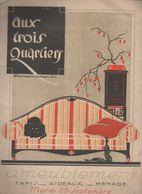 Paris Bd De La Madeleine   : Catalogue AUX TROIS QUARTIERS (CAT 1904) - Reclame