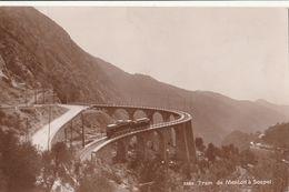 Cartolina - Postcard /   Viaggiata - Sent /  Tram De Menton A Sospel - Strassenbahnen