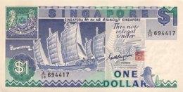 Singapore 1 Dollar, P-18a (1987) - UNC - Singapur