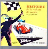 Album Porte-images TOBLER  Automobile Série 4  ( Neuf Mais Vide !) (M0547) - Advertising