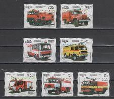 (S1995) KAMPUCHEA, 1987 (Fire Trucks). Complete Set. Mi ## 901-907. Used - Kampuchea
