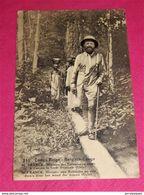 CONGO BELGE -  M. FRANCK  - Ministre Des Colonies En Route à Travers La Forêt Tropicale (Uele) - Congo Belge - Autres