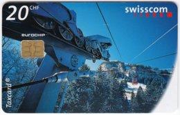 SWITZERLAND D-606 Chip Telecom - Traffic, Cable Car - Used - Switzerland