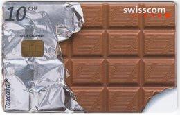 SWITZERLAND D-623 Chip Telecom - Food, Chocolate - Used - Switzerland
