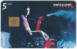 SWITZERLAND D-628 Chip Telecom - Used - Switzerland