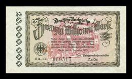 Alemania Germany 20000000 Mark 1923 Pick S1015 SC UNC - [ 3] 1918-1933 : República De Weimar