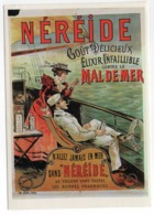 CPM    PUBLICITE   NEREIDE    -    ELIXIR CONTRE LE MAL DE MER - Advertising