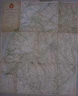 VECCHIA MAPPA -  CARTA TURISTICA DELLA COLLINA TORINESE -1961 - ACI TORINO - 1:25.000 - Carte Topografiche