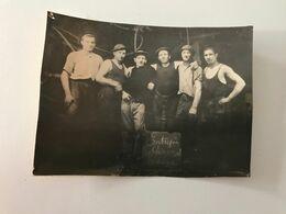 Ancienne Photographie Entreprise Stiévenard - Krieg, Militär