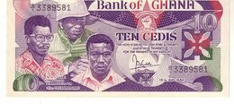 Ghana P.23 10 Cedis 1984 Unc - Ghana