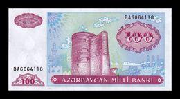 Azerbaiyan Azerbaijan 100 Manat 1993 Pick 18b SC UNC - Azerbaïdjan