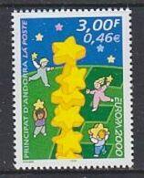 Europa Cept 2000 Andorra Fr 1v ** Mnh (49133B) - 2000