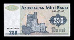 Azerbaiyan Azerbaijan 250 Manat 1992 Pick 13b SC UNC - Azerbaïdjan