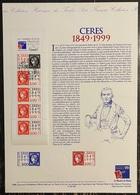 France - Document Philatélique - Premier Jour - FDC - YT Carnet Nº 3211 Et 3212 - 1999 - 1990-1999