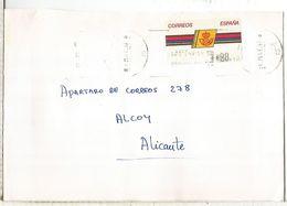CC CON ATM LOGO CORREOS MAT LA CORUÑA - 1931-Hoy: 2ª República - ... Juan Carlos I