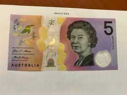 Australia $5 Uncirc. Polymer Banknote 2016 #2 - Emissions De La Banque Nationale 1910