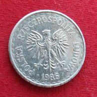 Poland 1 Zloty 1986 Y# 49.2  Polonia Pologne Polen Polska - Poland
