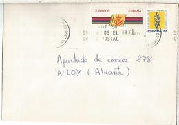 CC CON ATM LOGO CORREOS MAT MADRID - 1931-Hoy: 2ª República - ... Juan Carlos I