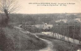 PIE-T-20-90 : LES LUCS SUR BOULOGNE. VILLAGE CHEF DU PONT - Les Lucs Sur Boulogne