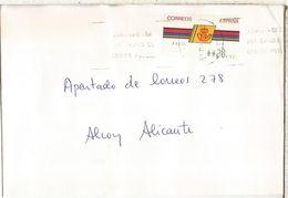 CC CON ATM LOGO CORREOS MAT CORUÑA - 1931-Hoy: 2ª República - ... Juan Carlos I