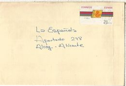 CC CON ATM LOGO CORREOS MAT OLOT GERONA - 1931-Hoy: 2ª República - ... Juan Carlos I