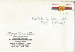 CC CON ATM LOGO CORREOS MAT LUGO - 1931-Hoy: 2ª República - ... Juan Carlos I