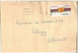 CC CON ATM LOGO CORREOS MAT TORDERA BARCELONA - 1931-Hoy: 2ª República - ... Juan Carlos I