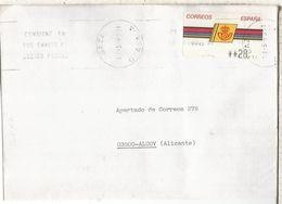 CC CON ATM LOGO CORREOS MAT BAZA GRANADA - 1931-Hoy: 2ª República - ... Juan Carlos I