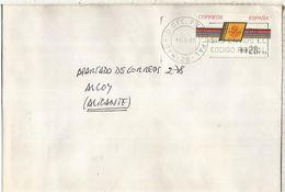 CC CON ATM LOGO CORREOS MAT BARCELONA - 1931-Hoy: 2ª República - ... Juan Carlos I