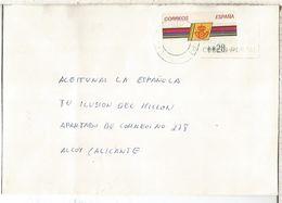 CC CON ATM LOGO CORREOS MAT VALLADOLID - 1931-Hoy: 2ª República - ... Juan Carlos I
