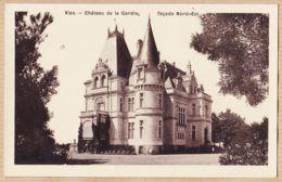 X34436 VIAS Hérault Château De La GARDIE Façade Nord-Est 1920s Photographie Aspect Brillant - Francia