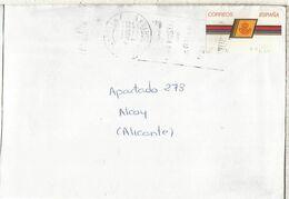 CC CON ATM LOGO CORREOS CASTALLA ALICANTE - 1931-Hoy: 2ª República - ... Juan Carlos I