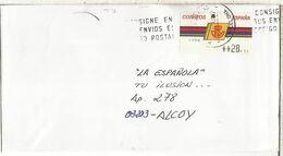 CC CON ATM LOGO CORREOS MONTCADA Y REIXAC - 1931-Hoy: 2ª República - ... Juan Carlos I