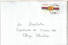 CC CON ATM LOGO CORREOS SANTOÑA CANTABRIA - 1931-Hoy: 2ª República - ... Juan Carlos I