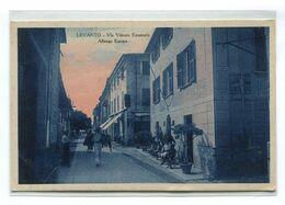 LEVANTO-VIA VITTORIO EMANUELE-ALBERGO EUROPA- 2 Scan- - La Spezia