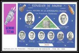 11405/ Espace (space Raumfahrt) Lettre (cover Briefe) Fdc Titan Panama 25/2/1965 - Cartas