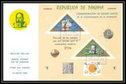 11410/ Espace (space) Lettre (cover) Fdc Triangles Galilee Galilio Galilei Panama 12/5/1965 - Cartas