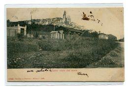 CERVO VISTO DAL MARE- STAZIONE IN LEGNO-Vg Il 24.8.1906 PER CORNIGLIANO- 2 Scan- - Imperia