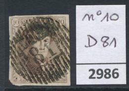 D 81  Op Nr 10 - Belgium