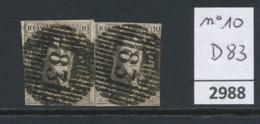 D 83  Op Nr 10, Paar - Belgium