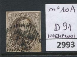 D 91  Op Nr 10A - Belgium