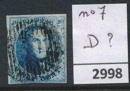 D ?  Op Nr 7 - Belgium