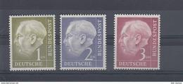 Bund Michel Kat.Nr.   Postfr/** 194/196 - Ungebraucht