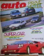 AUTO - N.3 - MARZO 1988 - ANNO IV - ALFA ROMEO 164 TD - FIAT CROMA TD - OPEL OMEGA 3.0 - FIAT TIPOI - Moteurs