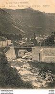 D65  CAUTERETS  Pont Du Tramway Sur Le Gave- Cabaliros  ..... - Cauterets