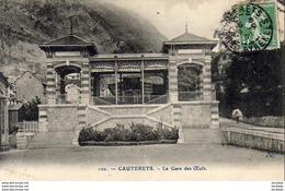 D65  CAUTERETS  La Gare Des Oeufs   ..... - Cauterets