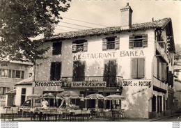 D64   CIBOURE  Restaurant Bakéa - J.Villaret Prop - Place De La Mairie        ........... - Ciboure