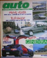 AUTO - N.4 - APRILE 1988 - ANNO IV - BMW 320 IS - CITROEN BX 1.9 GTI 16V - LANCIA DELTA HF INTEGRALE - PEUGEOT 205 DIESE - Moteurs